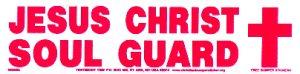 Jesus Christ Soul Guard